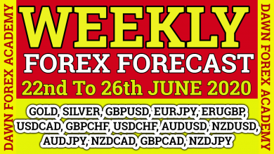 Photo of Weekly Forex Forecast For 22nd To 26th June 2020| Urud/ Hindi