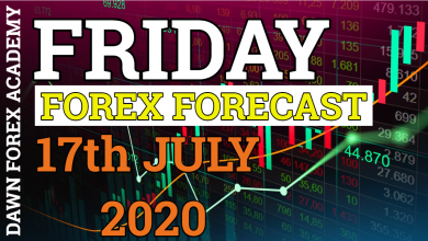 Photo of FRIDAY FOREX FORECAST FOR 17th JULY 2020| DAWN FOREX ACADEMY