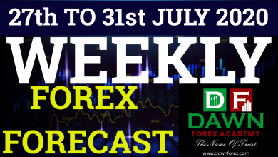 Photo of WEEKLY FOREX FORECAST FOR 27th TO 31st JULY 2020| URDU/HINDI| DAWN FOREX ACADEMY