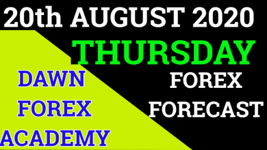 Photo of Thursday Forex Forecast For 20th August 2020 | Urdu/Hindi |  @Dawn Forex Academy