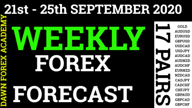 Photo of Weekly Forex Forecast 21st – 25th September 2020 in Urdu/Hindi  @Dawn Forex Academy