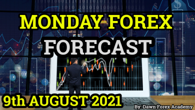 Photo of Monday Forex Forecast 9th August 2021